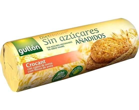 Biscoito Sem Adição de Açúcar com Flocos de Aveia Crocante Gullón 280g