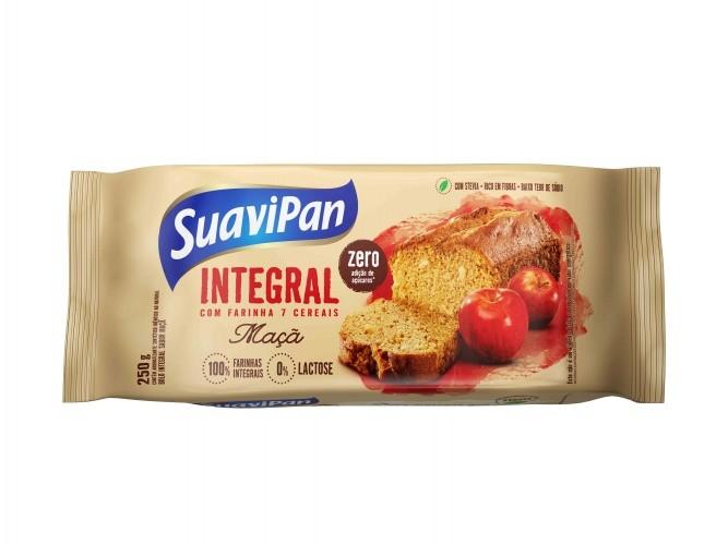 Bolo Integral  Zero Açúcar Sabor Maça Suavipan 250g