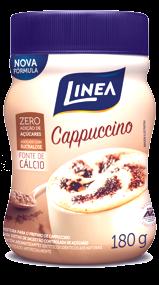 Cappuccino Zero Adição de Açúcar Linea Sucralose 180g