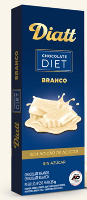 Chocolate Branco Diet 25g Diatt