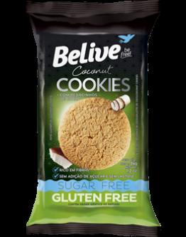 Cookies Diet de coco com pedaços de  Coco 34g Belive