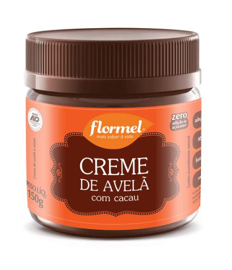 Creme de Avelã com Cacau Zero Adição de Açúcar Flormel 150g