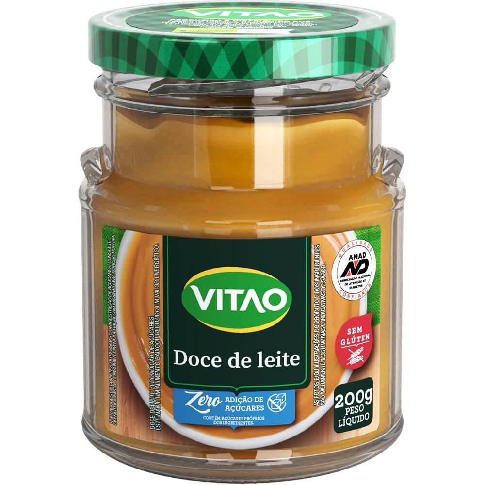 Doce de Leite Zero Adição de Açúcar Vitao 200g