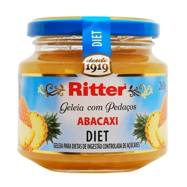 Geleia Diet Abacaxi Ritter 260g