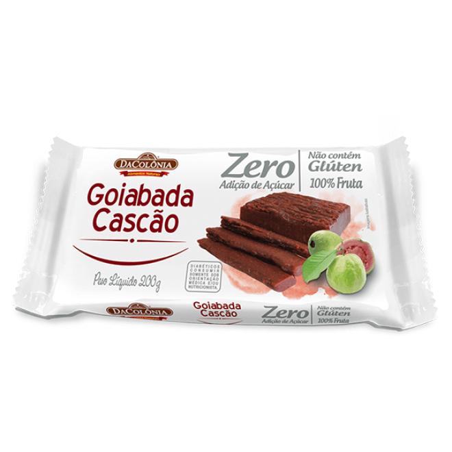 Goiabada Zero Adição de Açúcar Cascão DaColônia 200g
