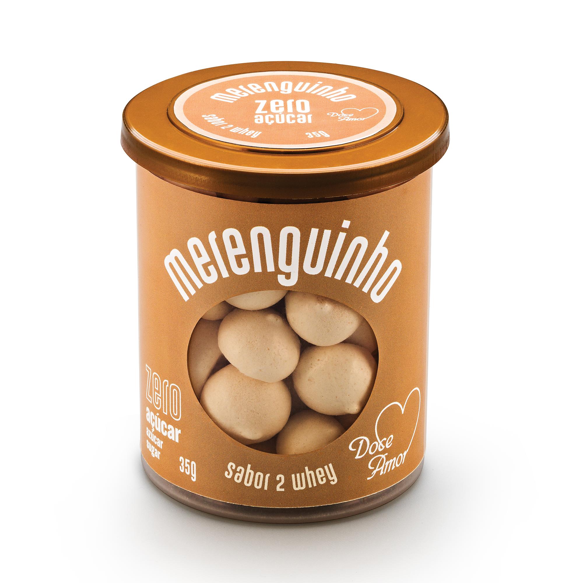 Merenguinho Suspiro Zero Açúcar 2Whey Doce Amor 30g
