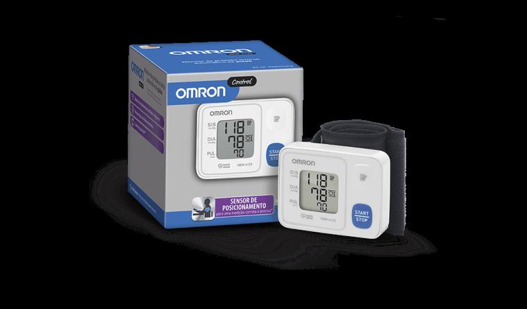 Monitor de Pressão Arterial de Pulso Automático HEM-6123 Omron