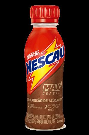 Achocolatado Zero Adição de Açúcar Nescau Max Cereal Nestlé 260mL