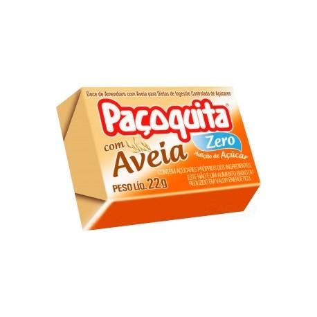 Paçoquita com Aveia Zero Adição de Açúcar 22g - Validade: 14/03/2020