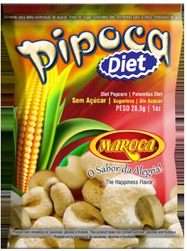 Pipoca Diet Maroca Zero Açúcar e Zero Glúten 28,5g