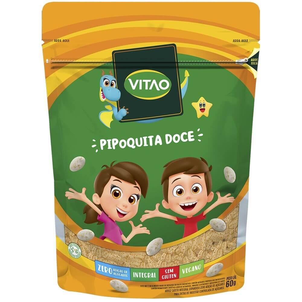 Pipoca Doce Zero Adição de Açúcar Vegano Vitao Kids 60g