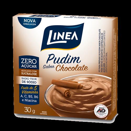 Pudim Zero Açúcar Chocolate Linea 30g