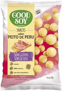 Snack de Soja Sabor Peito de Peru Good Soy 25g
