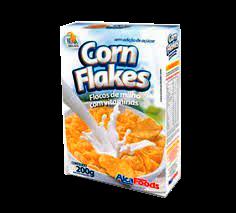 Sucrilhos Corn Flakes Sem Adição de Açúcar Alca Foods 200g