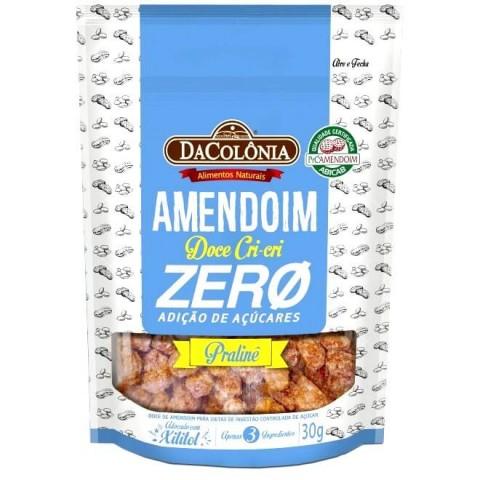 Amendoim Doce Zero Adição de Açúcar Cri-Cri DaColônia 30g