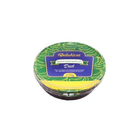 Bananada Diet  Delakasa 270g