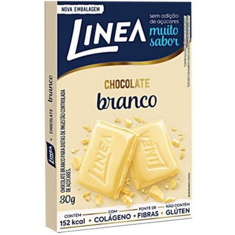 Chocolate Branco Sem Adição de Açúcar Linea 30g