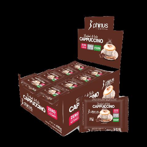 Fondant de Leite Cappuccino Zero Adição de Açúcar Phinus 20g