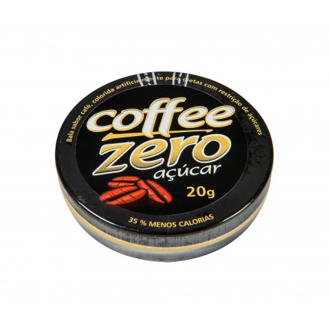 Bala Zero Açúcar Café Florestal 20g
