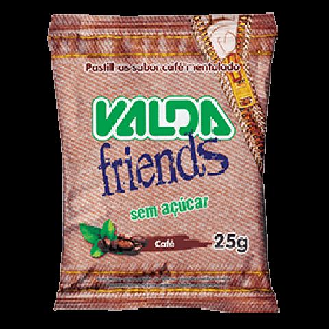 Bala Sem Açúcar Café Valda Friends 25g