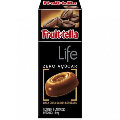 Bala Zero Açúcar Espresso Fruit-Tella Life 18,9g