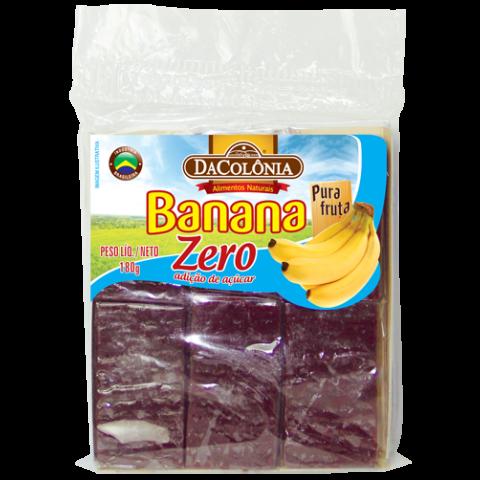 Banana Zero Adição de Açúcar DaColônia 180g