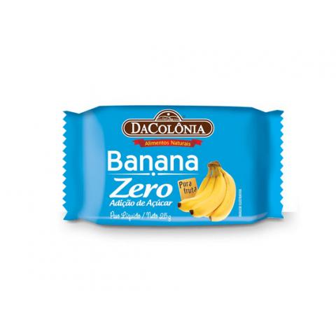 Banana Zero Adição de Açúcar DaColônia 25g