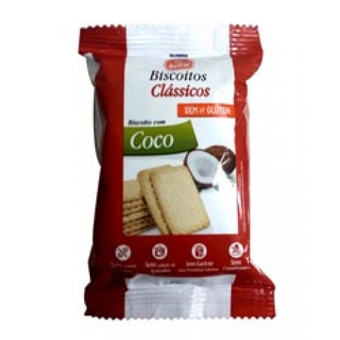 Biscoito de Coco Sem adição de açúcar Belfar 28,7g