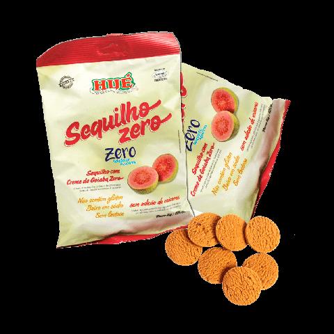 Biscoito Zero Adição de Açúcar Creme de Goiaba Hué 120g