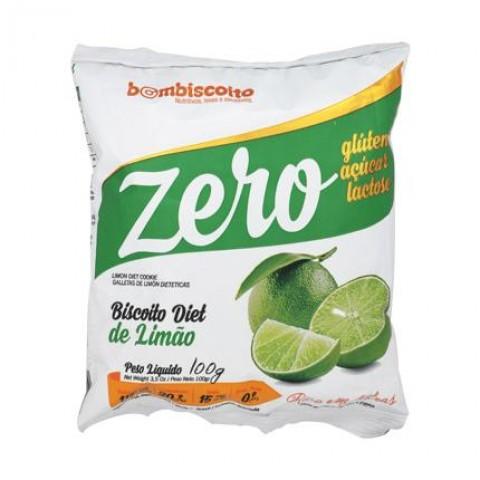 Biscoito Zero Açúcar Sabor Limão Bom Biscoito 100g