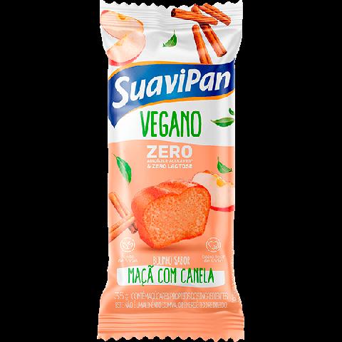 Bolinho Zero Adição de Açúcar Maça com Canela Suavipan 35g