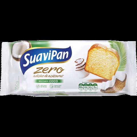 Bolo Zero Adição de Açúcar Coco Suavipan 250g