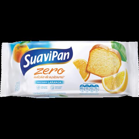 Bolo Zero Adição de Açúcar Laranja Suavipan 250g