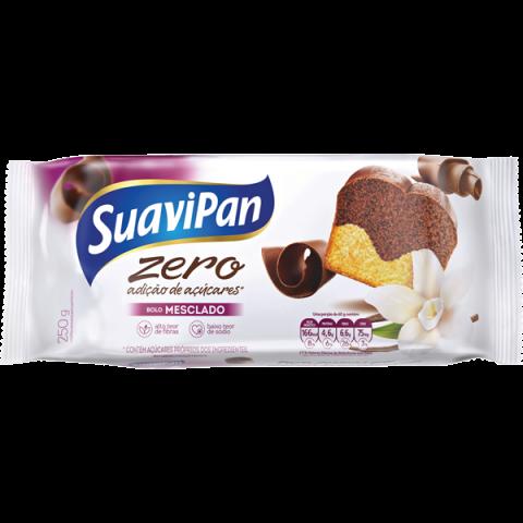 Bolo Zero Adição de Açúcar Mesclado Suavipan 250g