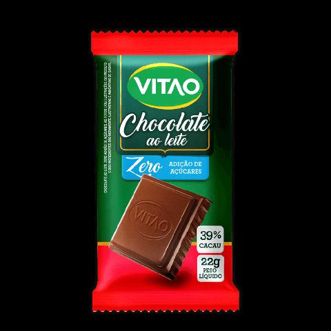 Chocolate ao Leite Zero Adição de Açúcar Vitao 22g