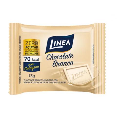 Chocolate Branco Zero Açúcar Linea 13g