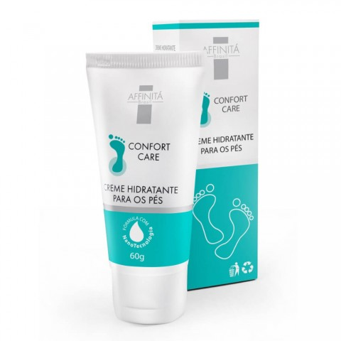 Creme Hidratante para os Pés Confort Care Affinitá 60g