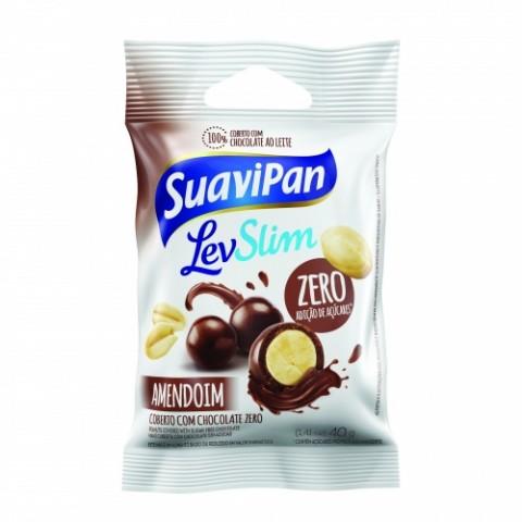 Drageado de Amendoim Zero Adição de Açúcar Suavipan 40g