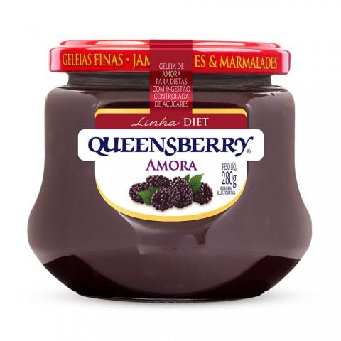 Geleia Diet Amora Queensberry 280g