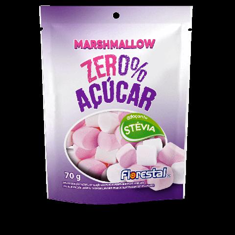 Marshmallows Zero Açúcar Morango Florestal 70g