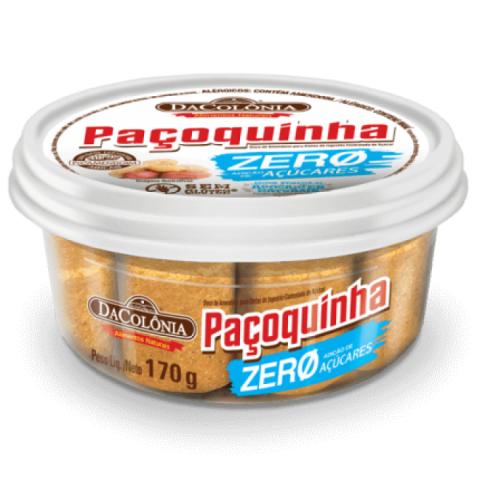Paçoca Rolha Zero Adição de Açúcar DaColônia 170g