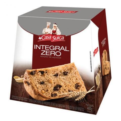 Panetone Zero Adição de Açúcar Integral Casa Suíça 400g