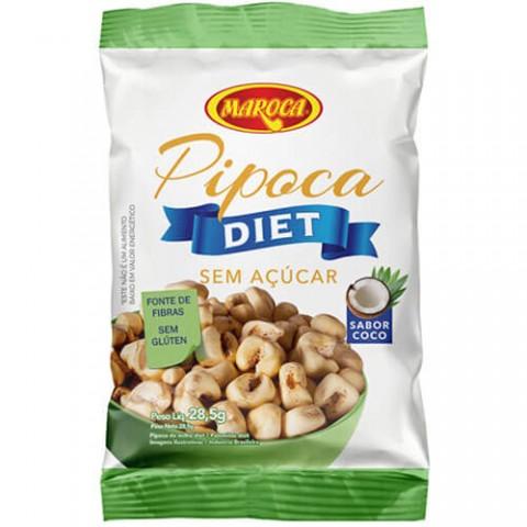 Pipoca Diet Coco Maroca Sem Açúcar e Sem Glúten 28,5g