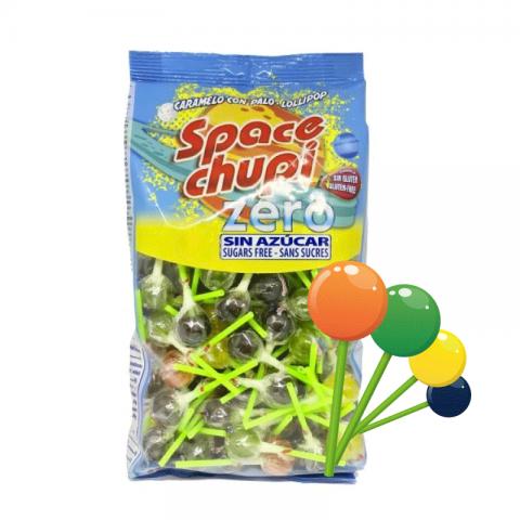 Pirulito Sem Açúcar Frutas Sortidas Space Chupi 950g