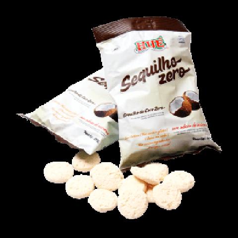 Biscoito Zero Adição de Açúcar Coco Hué 120g