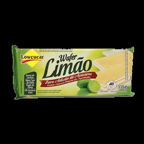 Wafer Limão Zero Açúcar Lowçucar 115g
