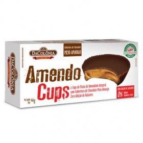 AmendoCups Zero Adição de Açúcares DaColônia 46g