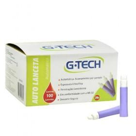 Auto Lanceta G-Tech 28 G Caixa Com 100 unidades