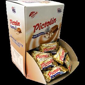 Bala Pictolin Doce de Leite e Creme Sem Açúcar Display com 104 Unidades