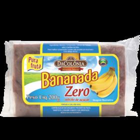 Bananada Zero Adição de Açúcar DaColônia 200g